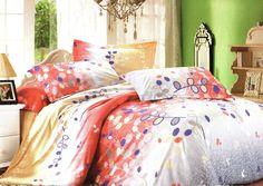Спално бельо от сатениран памук Наслада.  Свеж комплект спално бельо в преливащи се цветове от жълто през оранжево до сиво. Клончета с листа придават раздвиженост на десена. Нежната на допир материя на сатенирания памук допринася за уюта и комфорта на вашия сън. Внесете свежест в спалнята си.