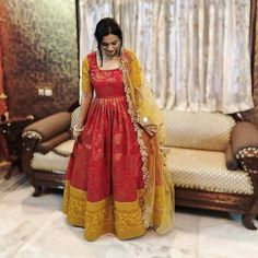 Alluring Rayon Long Gown by Sonu Alam's Shop - Online shopping for Ethnic Gowns on MyShopPrime - WDNLQZ
