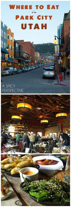 The Best Restaurants in Park City Utah #travel #utah #family