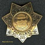 Colorado State Patrol Badge