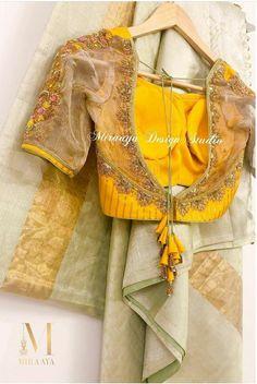 Blouse Designs High Neck, Best Blouse Designs, Hand Work Blouse Design, Simple Blouse Designs, Sari Blouse Designs, Stylish Blouse Design, Bridal Blouse Designs, Blouse Patterns, Lehenga Designs Latest