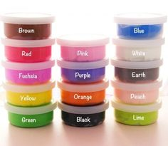 This paper clay is perfect for creating your own deco cabochons, create more colours by easily mixing two or more colours together! It is completely non-toxic. Craft Supplies Uk, Scrapbook Supplies, Candy Crystals, Kawaii Crafts, Peach Orange, Color Crafts, Clay Miniatures, Paper Clay, Air Dry Clay