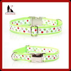 Hundehalsband Äpfel Zugstophalsband