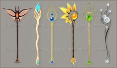 anime magical staff - Google Search