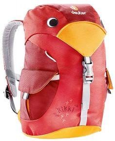 Рюкзак детский дошкольный Deuter Kikki Красный - выгодные цены, бесплатная доставка - купить детские рюкзаки в интернет-магазине Канцеляркин