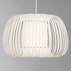 Buy John Lewis Harmony Ribbon Pendant, Natural, Small from our Ceiling Lighting range at John Lewis. Free Delivery on orders over Lounge Lighting, Living Room Lighting, Bedroom Lighting, Boho Lighting, Hallway Lighting, Kitchen Lighting, John Lewis Lampshades, Room Lights, Ceiling Lights