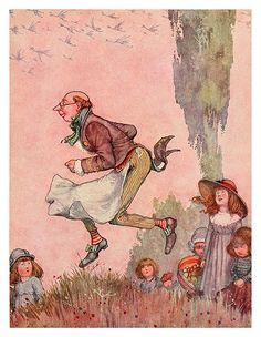 007-Ilustracion del cuento El tendero perdido-Bill the minder 1912-W. Heath Robinson