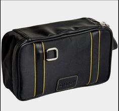 NEW Buxton Dopp Kit Travel Toiletry Bag for Men ~ Top Zip Black NWT Retails   45  Buxton  ToiletryBag b54e687a168b6