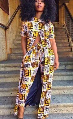 Jamila Kimono & Pants Set