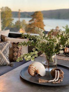 10 gode tips til en koselig uteplass - Franciskas Vakre Verden Terracotta, Pergola, Lounge, Cozy, Table Decorations, Inspiration, Furniture, Home Decor, Lily