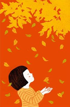 Falling Leaves by Taeeun Yoo — On The Wall