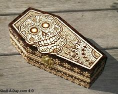 dia de los muertos coffin