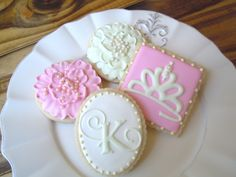 Bambella Cookie Boutique | Monograms & flowers