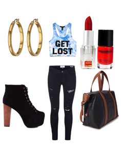 Cute, chill outfit for any girls hangout