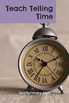Are you required to teach telling time, mainly hours and half hours to your class. What are you going to do? Is worksheets enough? (No, if you didn't know the answer) Today we are going to talk about teaching your first graders (or primary students) to tell time using the hour hand. If you missed my introduction to this series, you can find that blog post here. Keep reading!