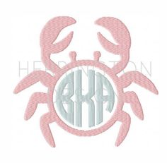 Check out our machine embroidery monogram frame selection for the very best in unique or custom, handmade pieces from our shops. Embroidery Monogram, Embroidery Fonts, Custom Embroidery, Machine Embroidery Designs, Circle Font, Monogram Frame, Sewing Tools, Preppy, 4x4