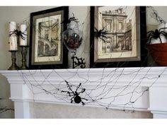 Halloween decorations : IDEAS  &  INSPIRATIONS Halloween mantle decorating ideas