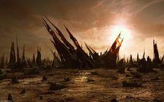 Ender's Game Formacs abandoned landscape