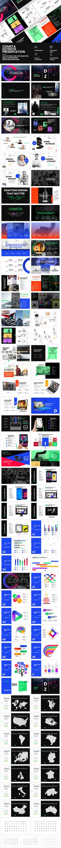 Cometa Keynote Presentation — Keynote KEY #portfolio #corporate presentation • Available here ➝ https://graphicriver.net/item/cometa-keynote-presentation/20716157?ref=pxcr