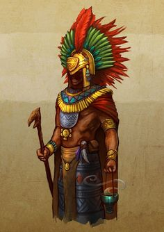 Image result for cyberpunk aztec
