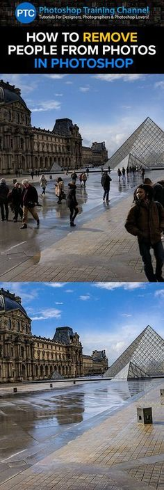 In this tutorial, you're going to learn how to remove people from photos in Photoshop!
