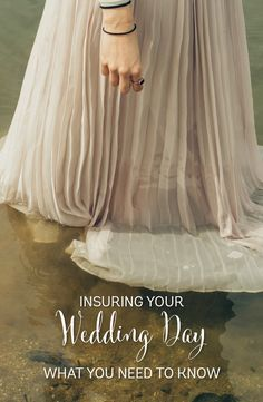 Wedding insurance - protect your wedding day with insurance http://southernbride.co.nz/wedding-day-insurance/