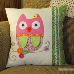 Owl cushion 6