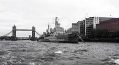 #Tower #Bridge and the HMS #Belfast by L8nJones.deviantart.com on @DeviantArt