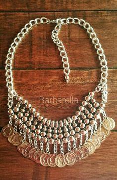 Collar con monedas by Barbarella Bijouterie