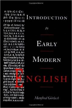 Introduction to early modern English / Manfred Görlach