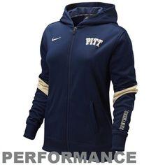 Pittsburgh Panthers Ladies Full Zip Performance Hoodie Jacket