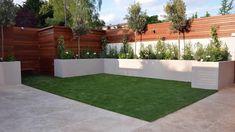 How to design a small garden with decking and lighting #garden #gardendesign #furnitureinfashion #zengarden #smallgarden #moderngarden
