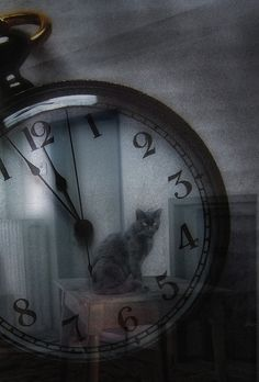 "Clock Hourglass Time: ""Lost #Time,"" by Haikus."