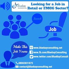 Contact us to find jobs in #retail company.