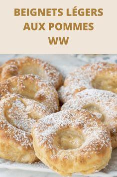 WW Apple Light Donuts - astuce recette minceur girl world world recipes world snacks Easy Baking Recipes, Ww Recipes, Apple Recipes, Sweet Recipes, Cake Recipes, Snack Recipes, Dessert Recipes, Thermomix Desserts, Ww Desserts