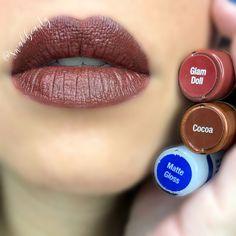 30 Mainstream and best matte lips color ideas for working women – Page 16 Lipsence Lip Colors, Lip Gloss Colors, Matte Lip Color, Lipsense Colors Matte, Beauty Hacks Lips, Beauty Tips For Skin, Gloss Matte, Matte Lips, Cocoa Lipsense