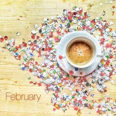 Un buongiorno colorato questa mattina benvenuto Febbraio