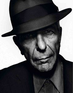 Leonard Cohen, photo: Chris Woods