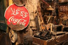 vintage cocacola ad_ cairo by sweet_bettie67, via Flickr