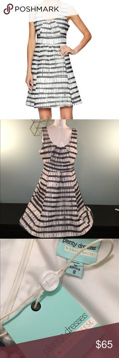 Plenty by Tracy Reese Amazing midi dress super textured new with tags. Only one flaw is some strings on the hem came undone when trying to remove from my dress form 😒😒. Otherwise excellent condition. Tracy Reese Dresses Midi