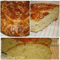 Γλυκό ψωμί / Sweet bread - Cooking & Art by Marion Sweet Bread, Banana Bread, Cooking, Cake, Desserts, Food, Greek Recipes, Kitchen, Tailgate Desserts
