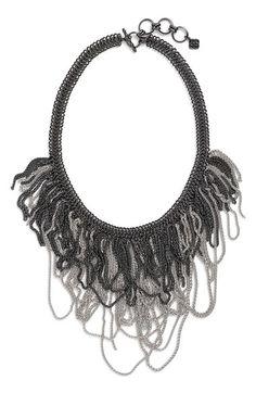 Kendra Scott 'Mystic Bazaar - Margot' Chain Bib Necklace available at #Nordstrom