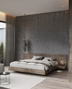 50 Amazing Industrial Master Bedroom Design Ideas is part of Modern bedroom decor - Modern Master Bedroom, Modern Bedroom Decor, Master Bedroom Design, Minimalist Bedroom, Contemporary Bedroom, Bedroom Ideas, Master Bedrooms, Trendy Bedroom, Diy Bedroom
