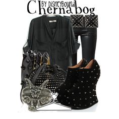 Love the shirt, pants and bag. Shoes and jewelry are hideous but love the rest lol