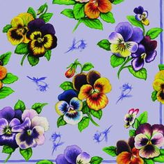 Flower Floral Paper Napkins Decoupage purple by ShimmeringCloud, $2.80