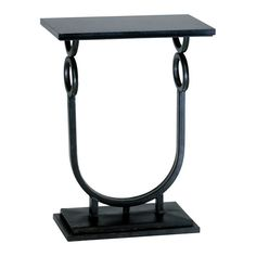 Made of metal and granite, this Cyan Design Rope Side Table will pique the interest of any guest you have in your home areas. This side table is available in an ebony finish. Manufacturer Model number(s) 02040 .