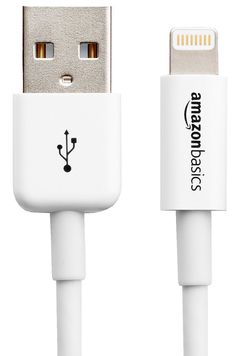 47% OFF! TODAY November 25th only! AmazonBasics Apple Certified Lightning to USB Cable - 6 Feet (1.8 Meters) - White GET THIS DEAL BEFORE IT IS GONE! https://www.facebook.com/Mykindergardenclass/photos/a.427801474021061.1073741828.286637944804082/742158842585321/?type=3&theater
