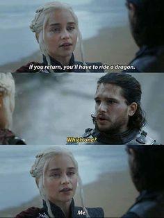 Game of Thrones humor Game Of Thrones Jokes, Got Game Of Thrones, Khal Drogo, Jon Snow, Game Of Thones, Got Memes, Stupid Memes, Funny Memes, Winter Is Here
