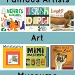 Books about Famous Artists, Art and Museums