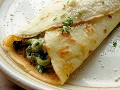 Best French Cuisine Recipes   Mushroom & Spinach Crêpes
